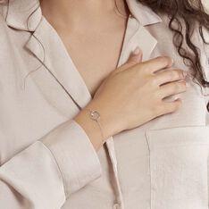 Bracelet Anas Argent Blanc Oxyde De Zirconium - Bracelets chaînes Femme | Marc Orian