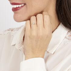 Bague Brooke Or Bicolore Diamant - Bagues fiançailles Femme | Marc Orian