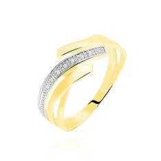 Bague Nermine Or Jaune Diamant - Bagues Femme | Marc Orian