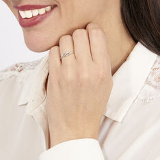 Bague Tylane Or Blanc Diamant Divers - Bagues Femme | Marc Orian