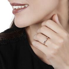 Bague Solitaire Alexandra Or Rose Diamant - Bagues Solitaire Femme | Marc Orian