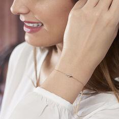 Bracelet Tylane Or Jaune Diamant - Bracelets chaînes Femme | Marc Orian