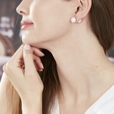 Bijoux D'oreilles Novelta Or Jaune Perle De Culture - Boucles d'oreilles Ear cuffs Femme | Marc Orian