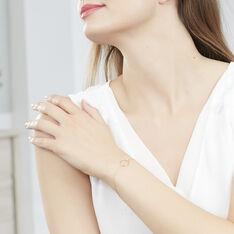 Bracelet Proserpine Or Jaune Diamant - Bracelets chaînes Femme   Marc Orian