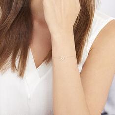 Bracelet Or Et Oxydes - Bracelets chaînes Femme | Marc Orian