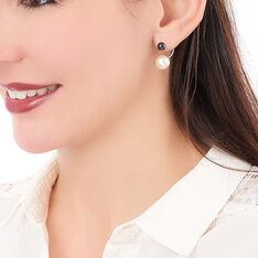 Boucles D'oreilles Alyson Argent  - Boucles d'oreilles Pendantes Femme | Marc Orian