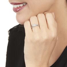 Bague Kate Or Blanc Diamant - Parure de mariage Femme | Marc Orian