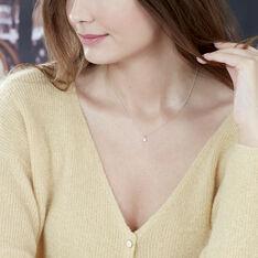 Collier Alexandra Or Blanc Et Diamants - Parure de mariage Femme | Marc Orian