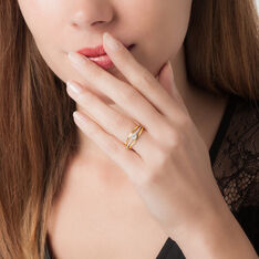 Bague Solitaire Anouska Or Jaune Diamant - Bagues Solitaire Femme | Marc Orian