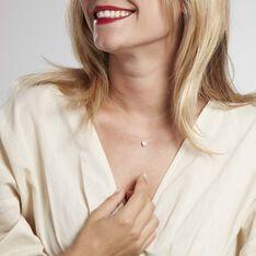 Collier Nylon Argent Blanc Oxyde De Zirconium - Colliers Femme | Marc Orian