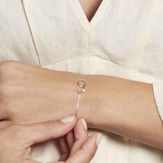 Bracelet Coline Argent Blanc - Bracelets chaînes Femme   Marc Orian