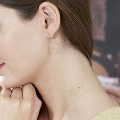 Boucles D'oreilles Agadir Or Rose - Boucles d'oreilles Pendantes Femme | Marc Orian