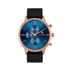 Montre Montignac S Multifontion Bleu - Montres Homme   Marc Orian