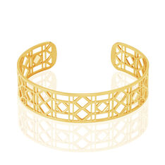 Bracelet Jonc Luyanna Acier Jaune - Bracelets jonc Femme | Marc Orian