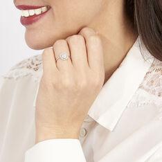 Bague Soleil D'hiver Or Blanc Diamant Divers - Bagues Femme | Marc Orian