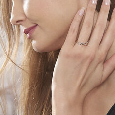Bague Romane Or Jaune Diamant - Bagues Femme | Marc Orian