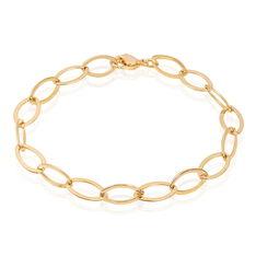 Bracelet Plaqué Or Maille Ovale - Bracelets chaînes Femme | Marc Orian