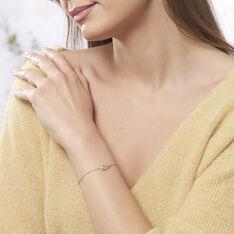 Bracelet Akiko Argent Blanc Perle De Culture Et Oxyde De Zirconium - Bracelets chaînes Femme   Marc Orian