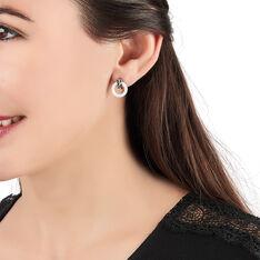 Boucles D'oreilles Argent Rhodie Abril - Boucles d'oreilles Pendantes Femme | Marc Orian