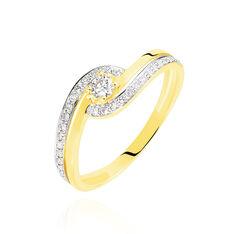 Bague Solitaire Vassilissa Or Jaune Diamant - Bagues Solitaire Femme   Marc Orian