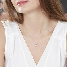 Collier Kate Or Rose Diamant - Parure de mariage Femme | Marc Orian