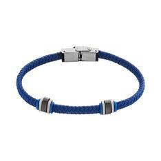 Bracelet Acier Etienne Cordon Nautique Bleu - Bracelets cordons Homme | Marc Orian