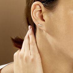 Bijoux D'oreilles Hanae Plaque Or Jaune - Boucles d'oreilles Ear cuffs Femme | Marc Orian