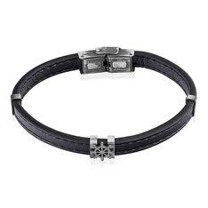 Bracelet Ganael Acier Blanc - Bracelets Homme | Marc Orian