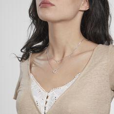 Collier Trisna Argent Blanc Oxyde De Zirconium - Colliers Femme   Marc Orian