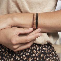 Bracelet Jonc Marie-adelaide Acier Rose - Bracelets jonc Femme | Marc Orian