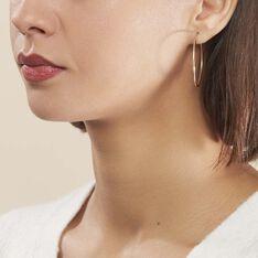 Créoles Valencina Flexibles Or Jaune - Boucles d'oreilles Créoles Femme | Marc Orian