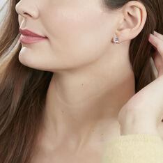 Boucles D'oreilles Argent Cube - Clous d'oreilles Femme | Marc Orian