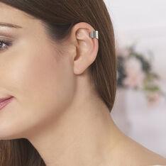 Bijoux D'oreilles Tessa Argent Blanc - Boucles d'oreilles Ear cuffs Femme | Marc Orian