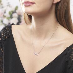 Collier Lou Argent Blanc Oxyde De Zirconium - Colliers Femme | Marc Orian