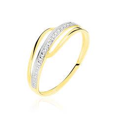 Bague Solena Or Jaune Diamant - Bagues Femme | Marc Orian