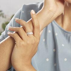 Bague Solveiga Or Blanc Diamant Synthétique - Bagues Femme | Marc Orian