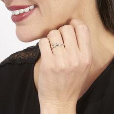 Bague Helene Or Bicolore Diamant - Bagues Femme | Marc Orian