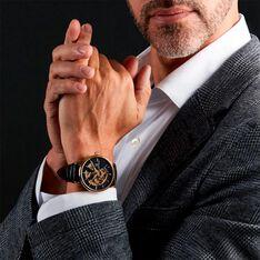 Montre Montignac S Automatique Noir - Montres automatique Homme   Marc Orian