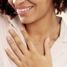 Collier Alexandra Plaque Or Jaune Oxyde De Zirconium - Colliers Femme   Marc Orian