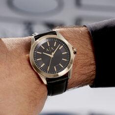Montre Armani Exchange Drexler Noir - Montres Homme | Marc Orian