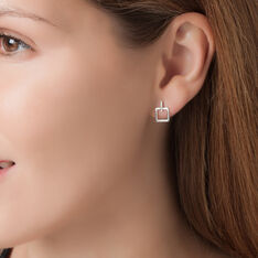 Boucles D'oreilles Puces Or Jaune Diamant - Clous d'oreilles Femme | Marc Orian