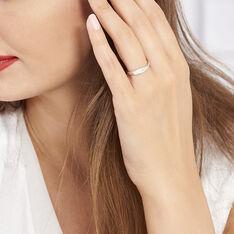 Bague Suzie Or Blanc Diamant - Bagues Femme   Marc Orian