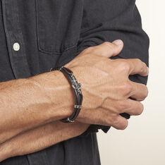Bracelet Arron Acier Blanc - Bracelets Homme | Marc Orian