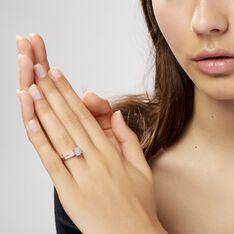 Bague Serena Or Blanc Diamant - Parure de mariage Femme   Marc Orian