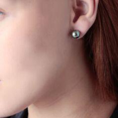 Boucles D'oreilles Or Jaune  Et Perle - Clous d'oreilles Femme | Marc Orian