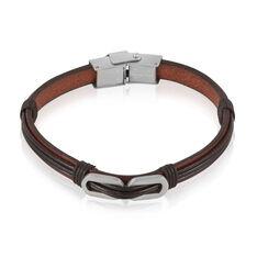 Bracelet Tristan Acier Blanc - Bracelets Homme | Marc Orian