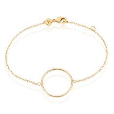 Bracelet  Plaque Or Jaune - Bracelets chaînes Femme   Marc Orian