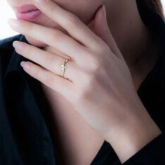 Bague Beata Or Jaune Diamant - Bagues Femme | Marc Orian