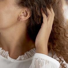 Créoles Wadim Plaque Or Jaune - Boucles d'oreilles Créoles Unisexe   Marc Orian