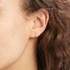 Creoles Or Jaune Ciselee - Boucles d'oreilles Créoles Femme | Marc Orian